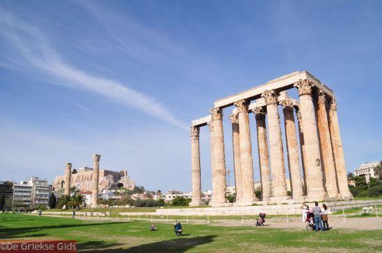 Tempel van Zeus in Athene